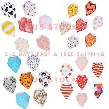 Baby Bandana Drool Bibs Unisex 14-Pack Gift Set 100% Cotton - Best Deal.