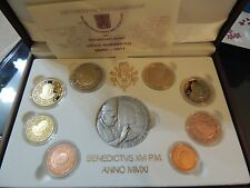 Divisionale Città del Vaticano PROOF 2011 con medaglia argento Vatican Vatikan