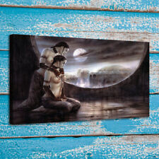 Print Canvas Art Painting Luis Royo Ointment and Moon Bath Home Wall Decor 24x36