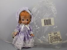 2007APRIL Precious Moments MONTHLY MOMENT Vinyl Doll Spring Lavender
