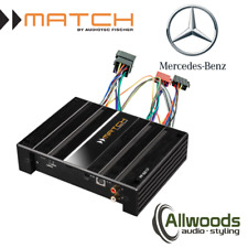 Match Amp & harness Package PP62DSP + FREE PP-AC Harness Cable Mercedes X Class