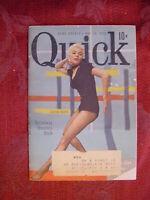 QUICK Pocket magazine May 18 1953 SHEREE NORTH Broadway Bounces Back
