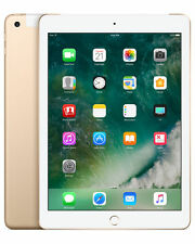 Apple iPad 5th Generation 128GB, Wi-Fi + Cellular (Unclocked), 9.7Inch - Gold