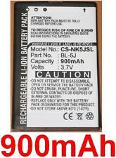 Batería 900mAh tipo BL-5J Para Nokia 5800 XpressMusic