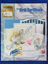 Cross Stitch Pattern The Birth Certificate Baby Record