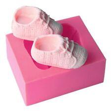 Baby Shoes Shaped Silicone Soap Mold  Cake Decoration Fondant Cake 3D Mold O0-01