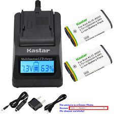 Kastar Battery LCD Fast Charger for Kodak KLIC8000 Kodak Pocket Video Camera ZX1