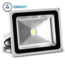 Led Proyectores 50W Blanco 4100LM IP65 Tüv Gris Carcasa