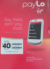 NEW LG Aspire - White (Virgin Mobile) Cellular Phone