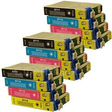12 CiberDirect T0711 T0712 T0713 T0714 Ink Cartridges to fit Epson Printers