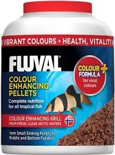Fluval Tropical Small Sinking Colour Enhancing Fish Pellet Food Nutrafin