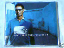 CLIFF RICHARD Can't keep this feeling in cds PR0M0 1 TR