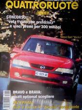 Quattroruote 480 1995 Nuove Audi e Lancia sono pronte. Nuova Opel Vectra [Q81]