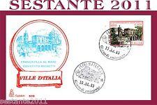 ITALIA FDC CAPITOLIUM 508 VILLE FRANCAVILLA CONVENTO MICHETTI 1983 A. MATERA D33
