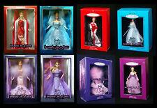 Collector Edition 2000 2001 2002 2003 Barbie Doll Porcelain Hallmark Ornament