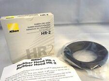 Nikon HR-2 Rubber Lens Hood 52mm for 50/1.2 AI-S  58/1.2 Noct AI-S 50/1.4 AF-D