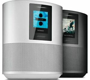 Bose Home Speaker 500 with Alexa Built In - Luxe Silver & Triple Black