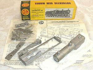 GEM GWR MIDLAND COMPOUND METAL LOCO LOCOMOTIVE KIT & CHASSIS 00 BOXED OO NEW
