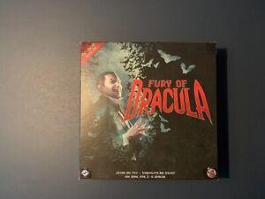 Fury of Dracula – Brettspiel – deutsch, neuwertig – Fantasy Flight Games