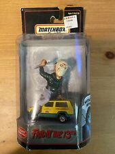 Matchbox Collectibles Character Cars - Friday the 13th - Jason Voorhees Jeep