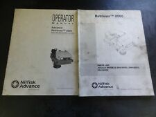 Nilfisk Advance Advance Retriever 2060 Parts List and Operator Manual