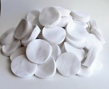 ".38-.45 Cal./.410 Ga/8-9Mm (2 1/4"")Cotton Round Patches 1000 Per Bag /Emss1012T"