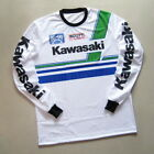Vintage Style Mesh Motocross Jersey Kawasaki Retro MX Cool !!
