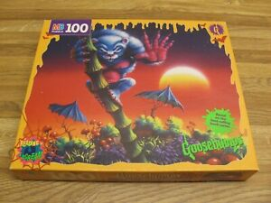 Vintage 1996 GOOSEBUMPS The Beast From The East 100 Pc Jigsaw Puzzle New Sealed
