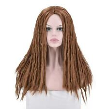 Brown Reggae Dread Locs Long Full Wig Hair Dreadlocks Women/Men for CosplayParty
