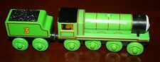 Thomas The Train Wooden Engine Light Up Reveal Henry w Tender Nice Condition!