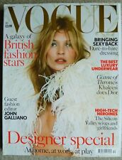 VOGUE MAGAZINE DECEMBER 2013 KATE MOSS - Designer Special John Galliano Khaleesi