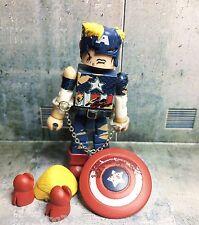 Marvel Minimates CIVIL WAR CAPTAIN AMERICA Prisoner Box set DC X-Men Avengers