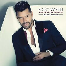 A Quien Quiera Escuchar Deluxe Edition - Ricky Martin CD Sealed ! New !