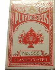 Polish Plastic Coated Poker Playing Cards Hysterical Goofy Graphics RED Deck