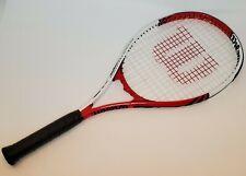 "New listing Wilson 110 Roger Federer Tennis Racquet Racket 4 3/8"" L3"
