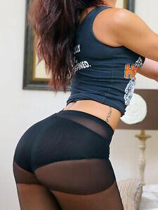 TAMARA PANTYHOSE Hooters NFL Cheer Uniform Support Hosiery Size B C D Q 2XL 3XL