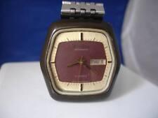 Citizen. Automático. Japón. Metal y acero inoxidable. Años 70. Dial bicolor