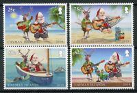 Cayman Islands Christmas Stamps 2019 MNH Santa Reindeer Birds Turtles 4v Set