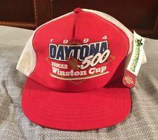 NEW Vintage 1994 Daytona 500 Winston Cup NASCAR Mesh Snapback Trucker Hat USA