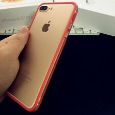Ultra Thin Bumper TPU Rubber Case Frame Cover Skin For Apple iPhone X 6/7/8 Plus