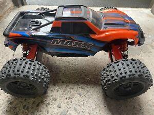 Custom Traxxas Maxx — 1/10 RC Car 4S 6S