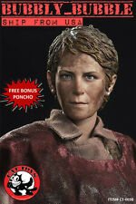 1/6 Carol Peletier Head Sculpt The Walking Dead For Hot Toys USA IN STOCK