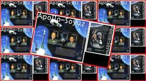🚀 ANTIGUA 2000 SPACE - APOLLO/SOYUZ 10 S/S + 10 M/S (20 !) MNH $ wholesale $ 🚀