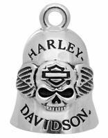 """Harley-Davidson """"RIDE BELL SKULL & WINGS"""" Glücksglöckchen *HRB045*"""