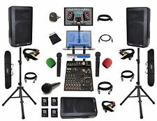 Pro audio equipment karaoke bar system karaoke system laptop (ready) (hookups)