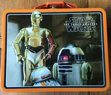 New Star Wars The Force Awakens 3D Lunchbox-Pail C-3Po R2-D2-The Tin Box Co.