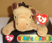 Ty Beanie Baby DERBY the HORSE - MINT w/TAGS! 3rd Gen. Swing Tag & 1st Gen. T.T.