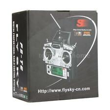 FLYSKY FS-T6 Transmitter 2.4G 6CH Mode 2 + Receiver R6-B for RC Plane Car A9G1