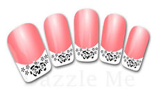 3D Nail Art Sticker Decals Transfer Stickers French Tip Design (3D824)