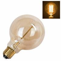 Vintage Industrial Light Fixtures G95 Light Bulb Edison Filament Lamp E27-60W